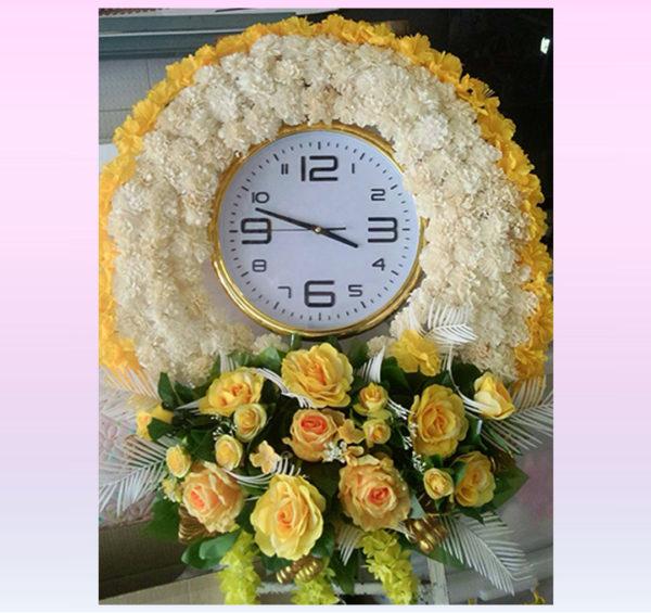 พวงหรีดนาฬิกา PC3